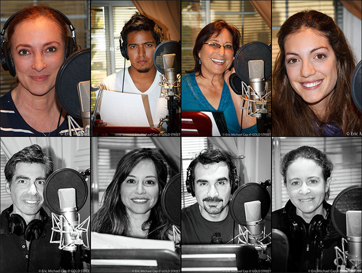 Voice Over Recording Talent Los Angeles